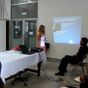 Taught Colonels and Group Captains At Armed Forces Headquarter